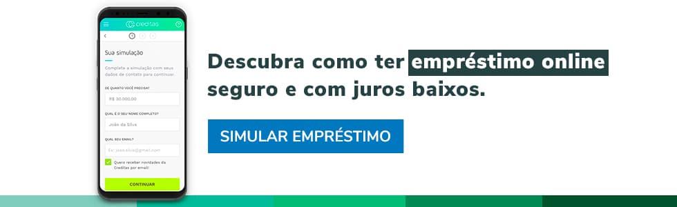 Acessar https://www.creditas.com/emprestimo-online